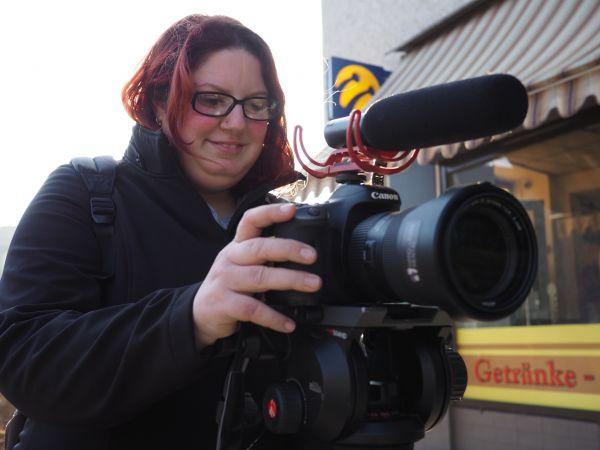 Kamerafrau Isabell